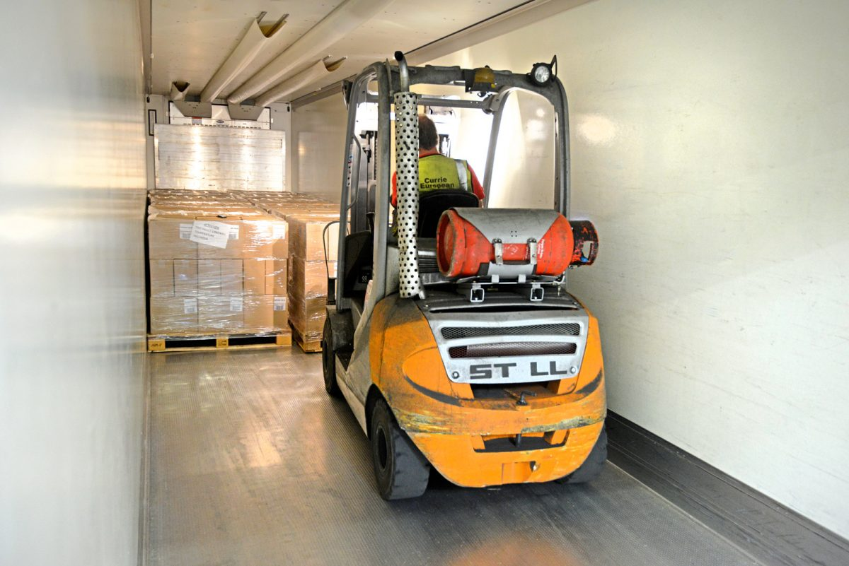 Container Transport UK and European