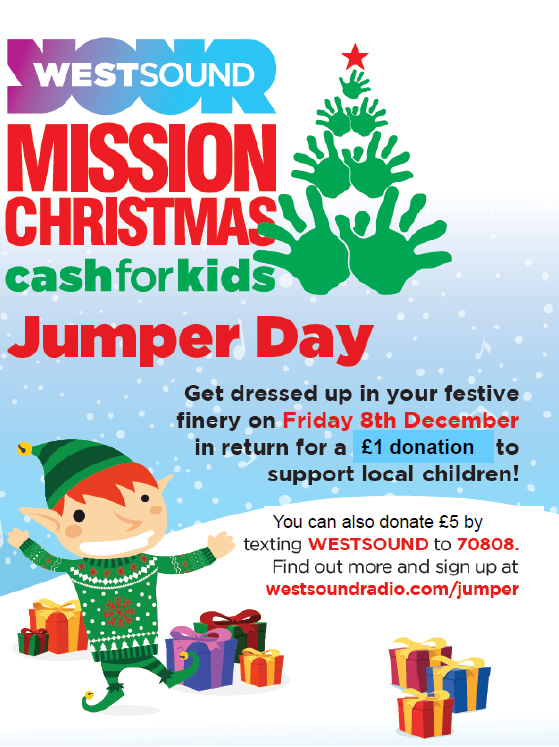 Cash for Kids Jumper Day