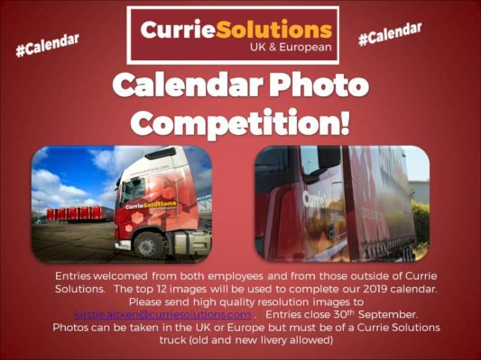 Trucks Calendar photo competition