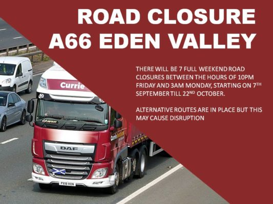 A66 Road Closure