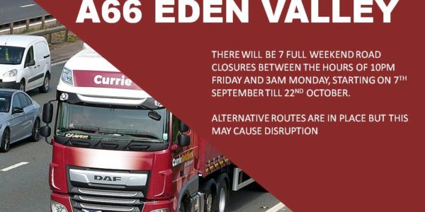 A66 Road Closure